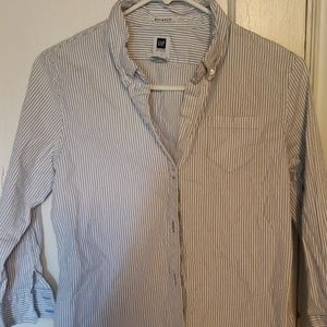 NWOT button up slim fit